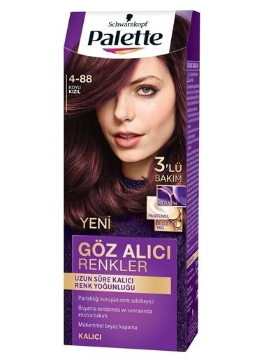 Palette Palette Yoğun Göz Alıcı Renkler Saç Boyası 4-88 Renkli